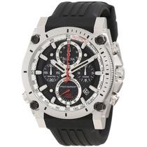 Reloj Bulova Precisionist Acero Caucho Cronografo 98b172