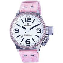Reloj Tw Steel Ceo Canteen Swarovski Rosa Tw36