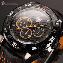 Reloj Deportivo Shark Orange Relogio