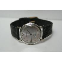 Reloj Bulova Chapa De Oro Blanco 1967