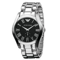 Reloj Emporio Armani Ar0680 De Hombre Color Plata Hermoso!!