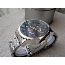 Excelente Reloj Gucci Acero Fechador Subasta 1 Peso