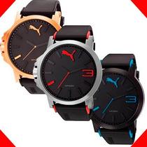 Reloj Puma Varios Modelos - Cristal Mineral - Wr 100m - Cfmx