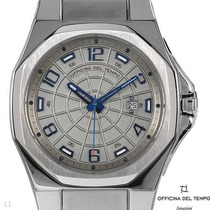 Reloj Officina Del Tempo Italiano Hombre Acero Inoxible6 Dvn