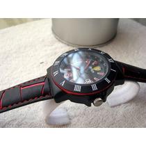 Excelente Reloj Ferrari Piel Fechador Subasta 1 Peso