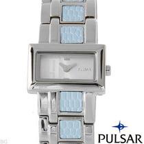 Reloj Pulsar By Seiko Para Dama, Acero Inxidable 2 Flr