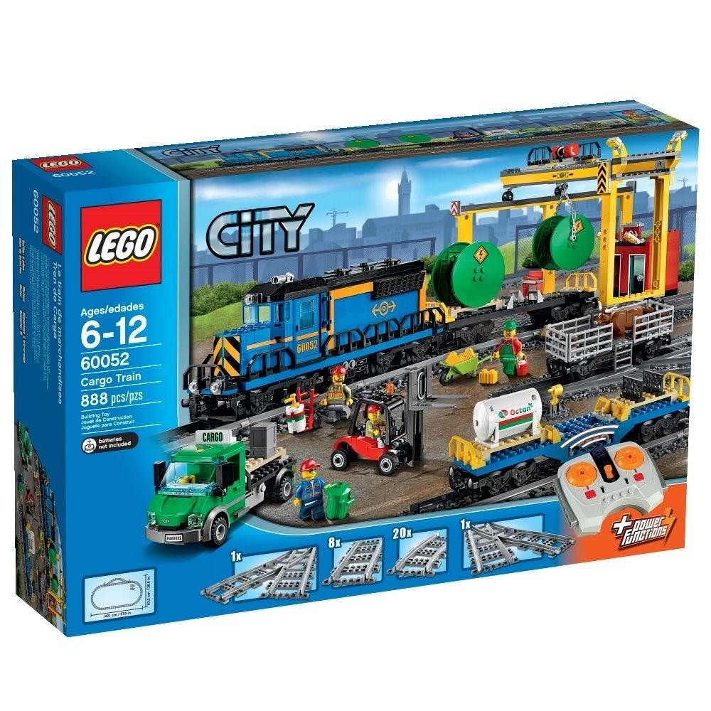 remato lego city tren de carga modelo 60052 nuevo sellado 3 en mercadolibre. Black Bedroom Furniture Sets. Home Design Ideas