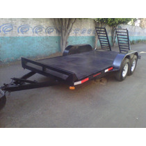 Remolque Plataforma Cama Baja Maquinaria