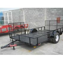Remolque Traila Cuatrimoto Camioneta Camion Maquinaria