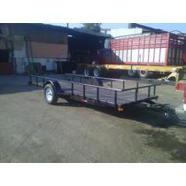 Remolque Cama Baja Camionetas Motos 1500 Kgs. Mty