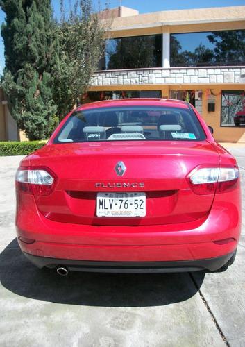Renault Fluence Expression Cvt 2012 Rojo