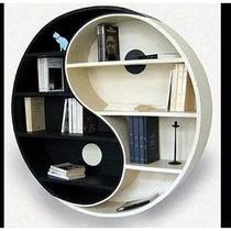 Librero, Repisa, Estantería Forma Yin Yang