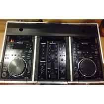2 Pioneer Cdj-350 + Djm-350 + Case
