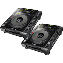 ( Par) Pioneer Cdj-850k Reproductor Cd Mp3 Aac