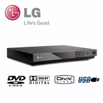 Reproductor De Dvd Lg Dp132 Cd Mp3 Wma Usb Jpeg Subtítulos