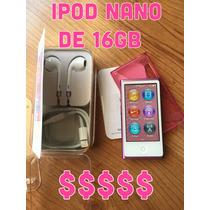Ipod (5a Generación) Nano Touch 16 Gb Rosa.