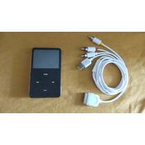 Ipod Video 60gb, Cable Video 18 Meses Sin Intereses