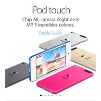 Ipod Touch 6 Gen 16 Gb Nuevo Sellado