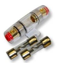 Imc Audio 100 Amp Inline Agu Portafusibles Adapta Alambre 4