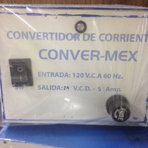 Eliminador 24v-5a Convermex