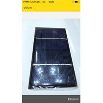 Celda Solar 6v A 150ma