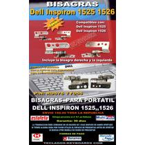 Bisagras Nuevas Para Dell Inspiron 1525 Y 1526 Ru676 Ty055