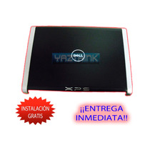 Back Cover Dell Xps M1330 Negro Carcasa Del Display De Led