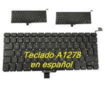 Teclado Macbook Pro13 A1278 Nuevo Español C/instalacion Lbf