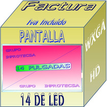 Pantalla Display Hp Dv4 4068la Tecnologia Led Lqe Mdn