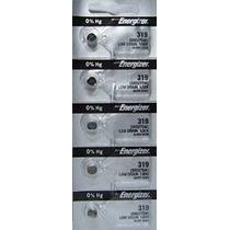 Energizer Batteries 319 (sr527sw) Óxido De Plata Del Reloj D