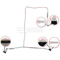 Cable Flex Nuevo Para Lcd 15.6 Satellite C655 C655d Series