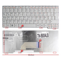 Teclado En Español (sp) Lenovo S10-2 Series Color Blanco
