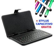 Funda Con Teclado Mini Usb Para Tablet Pc 7 Pulgadas