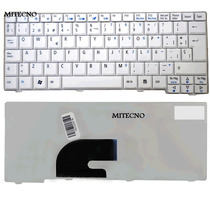 Teclado Blanco Acer Aspire One Mini Zg5 A150 A110