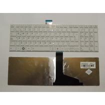 Teclado Toshiba L850 C850 L855 C855 Blanco Español Nuevos