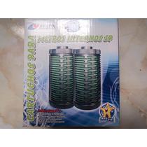 Repuesto Cartucho Completo P/filtros Sumergibles Resun 2pzas