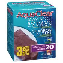 Repuesto Carbon Para Filtros Aquaclear 20 (3 Pzas)