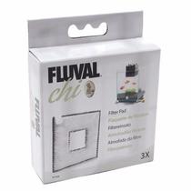 Repuesto Carbon Para Filtro Fluval Chi (3 Pzas)