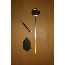 Maquinaria Quartz (bateria) De Pendulo Para Proyecto Reloj