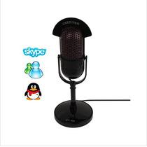 Microfone C 3,5 Mm Multimedia Dinamico Profissional