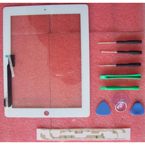 Touch Screen Ipad 4 Digitalizador Pantalla Blanco Y Negro