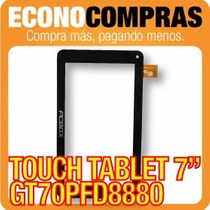 Touch Tablet China 7 Universal Gt70pfd8880 Negra 100% Nueva!