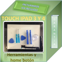 Touch Screen Digitalizador Ipad 3 3rd Negro Completo