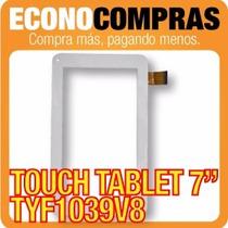 Touch Tablet China 7 Universal Tyf1039v8 Blanca 100% Nueva!!