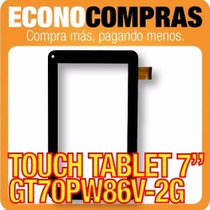 Touch Tablet China 7 Universal Gt70pw86v-2g 100% Nueva!!!!!!