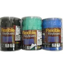 Teclado Silicona Flexible Plegable Teclado Portátil Usb Pc