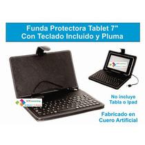 Funda Protectora Tablet 7 Con Teclado Incluido Y Pluma