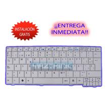 Teclado Keyboard Acer One Zg5 A110 A150 D250 Blanco Español
