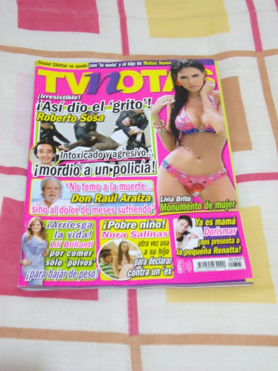 Livia Brito Revista H Revista tv notas portada