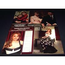 Angelica Rivera Lote De Coleccion De Recortes De Revistas